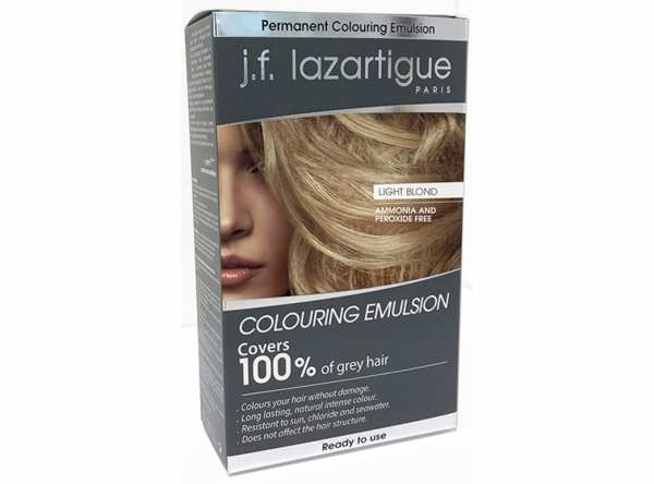 Haarfärbemittel EMULSION COLORANTE Hellblond von j.f. lazartigue