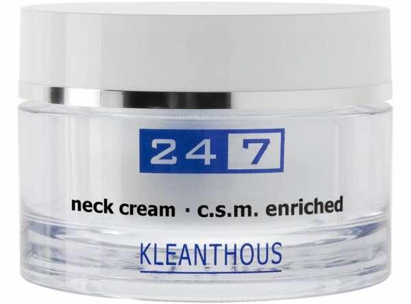 KLEANTHOUS 24/7 neck cream c.s.m. enriched - Dekolleté & Hals Pflege