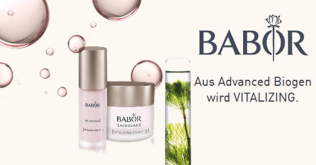 BABOR SKINOVAGE VITALIZING - Für müde Haut