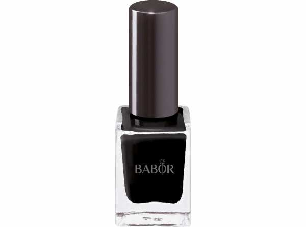 BABOR AGE ID Nail Colour 23 pure latex black - Brillanter, langhaftender Nagellack