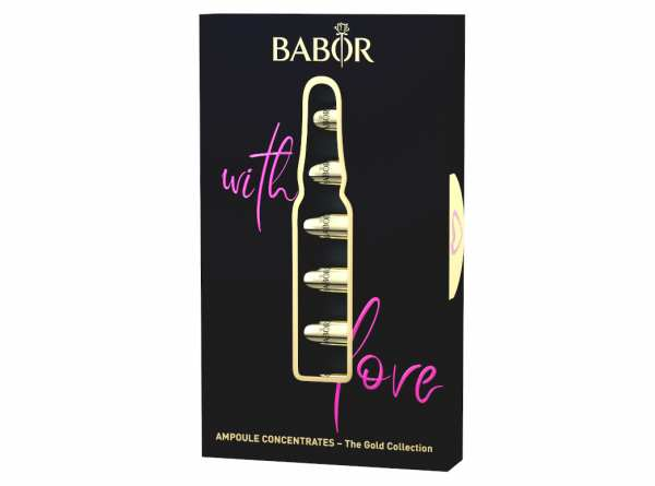 BABOR AMPOULE CONCENTRATES The Gold Collection with love 7x 2 ml