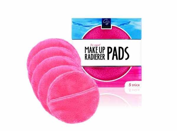 Der original MakeUp Radierer PADS 5-er Set Pink