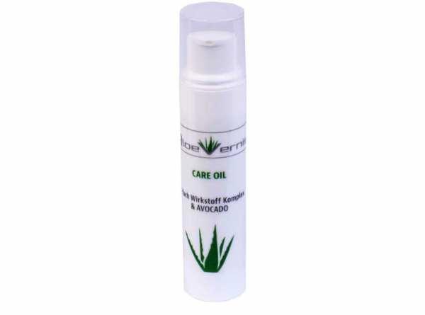 AloeVernis® BASIC aloe vera CARE OIL - Serum 5 ml - Avocado, Hyaluron, Collagen, Arganöl