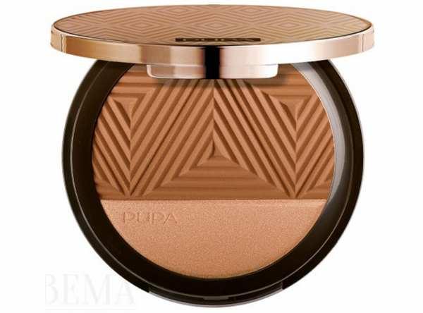 Bronzer + Highlighter SAVANNA 002 Copper Sand von PUPA