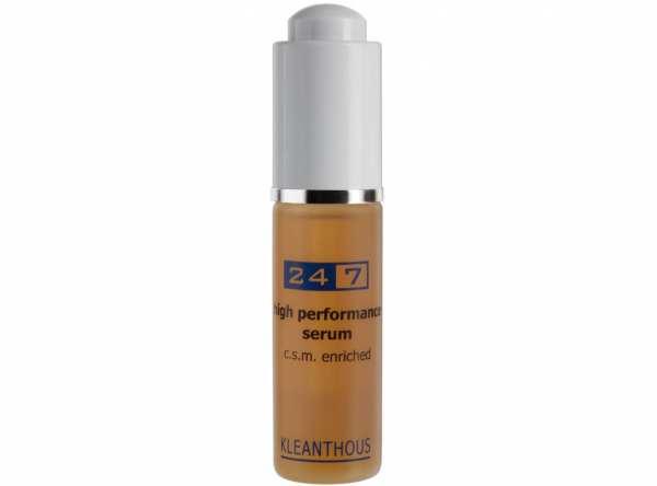 KLEANTHOUS 24/7 high performance Serum c.s.m. enriched - Hochwirksames Anti-Aging Serum