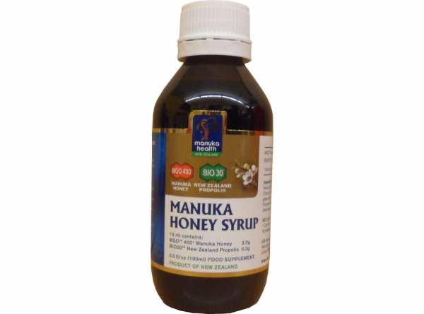 Manuka Honig Sirup MGO 400+ 250 g von manuka health