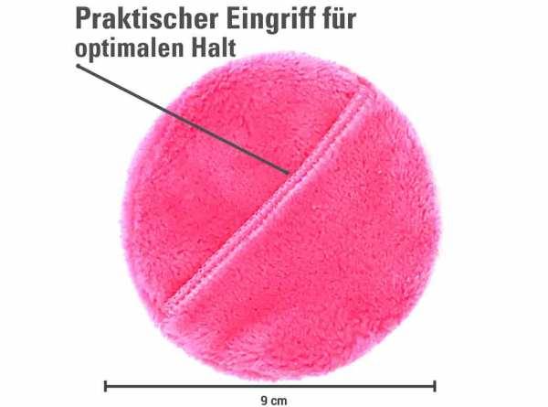 Der original MakeUp Radierer PADS 5-er Set Pink (unverpackt)