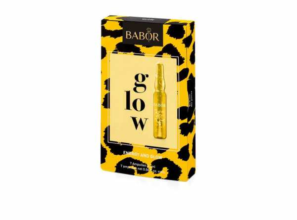 BABOR AMPOULE CONCENTRATES glow 7x 2ml- Strahlkraft Ampullenkur