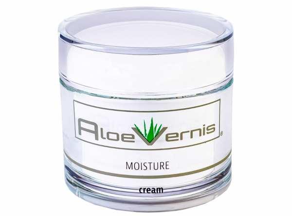 AloeVernis® BASIC aloe vera MOISTURE cream 200 ml + GRATIS 3er BABOR Ampullen Set