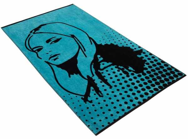 VOSSEN BEACH COLLECTION FACE IT Strandtuch 100 x 180 cm