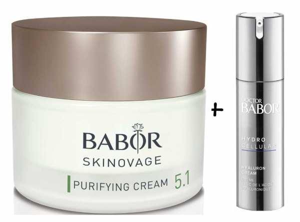 BABOR SKINOVAGE Purifying Cream - Klärende und ausgleichende Pflegecreme