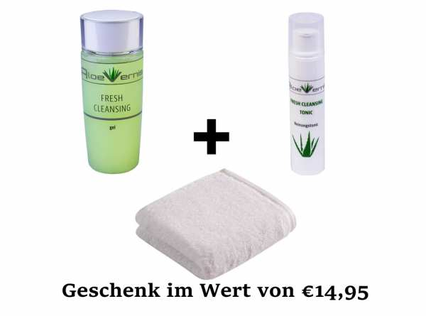 AloeVernis® FRESH CLEANSING gel + AloeVernis® FRESH CLEANSING tonic + Geschenk