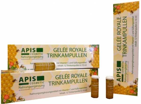 Dr. SCHRÖDER Nahrungsergänzungsmittel - Gelée Royale APIS Trinkampullen