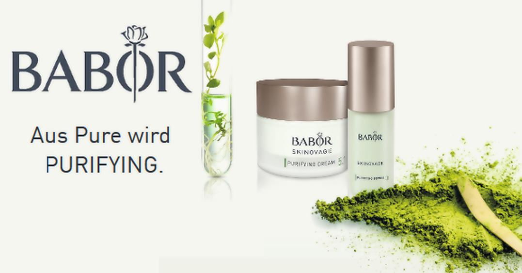BABOR SKINOVAGE PURIFYING - Für ölige, unreine Haut
