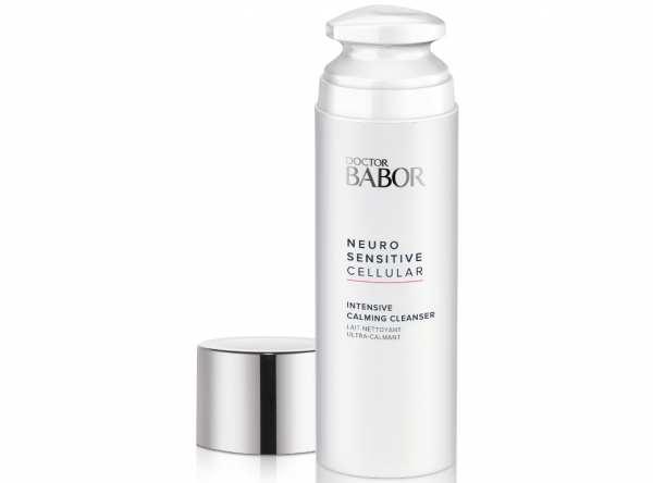 DOCTOR BABOR NEURO SENSITIVE CELLULAR Intensive Calming Cleanser - Rückfettende Reinigungsmilch