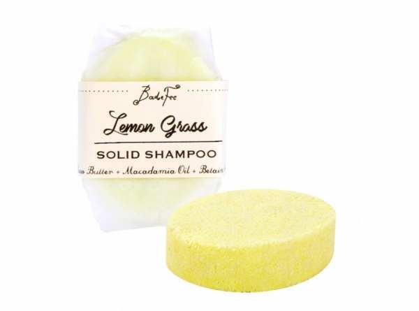 BadeFee Festes Shampoo Lemon Grass 50 g