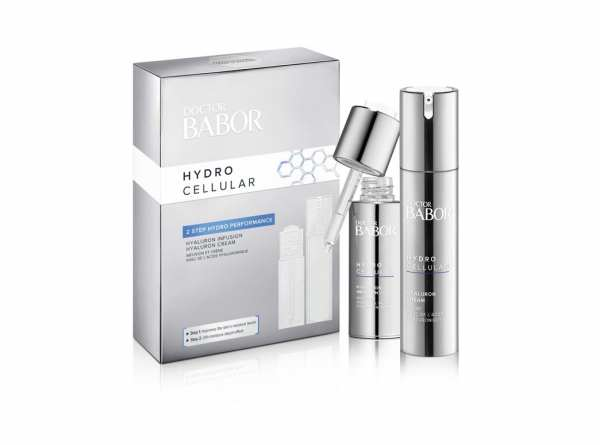 DOCTOR BABOR Hydro Cellular 2 Step Hydro Performance Set - Hyaluron Cream