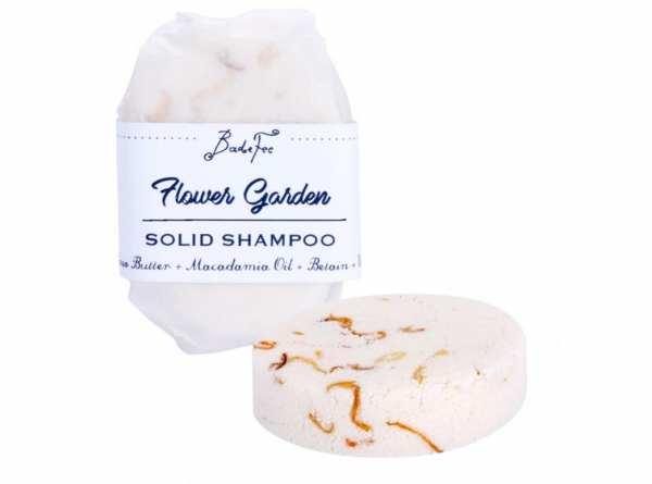 BadeFee Festes Shampoo Flower Garden 50 g