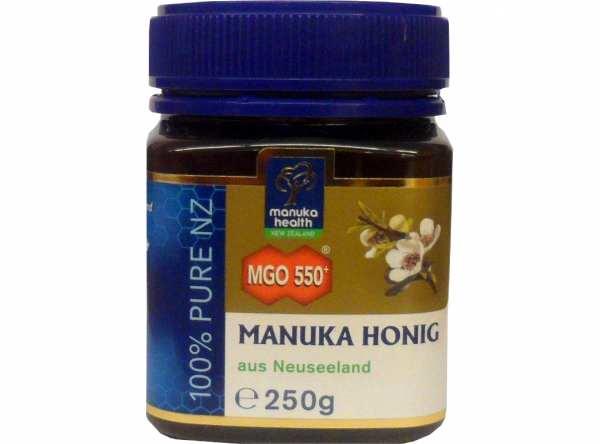 Aktiver Manuka Honig MGO 550+ 250 g von manuka health