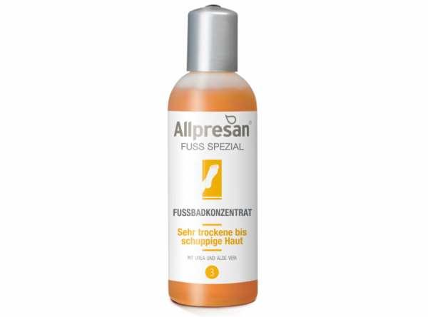 Fußbadkonzentrat sehr trockene bis schuppige Haut FUß SPEZIAL von Allpresan®