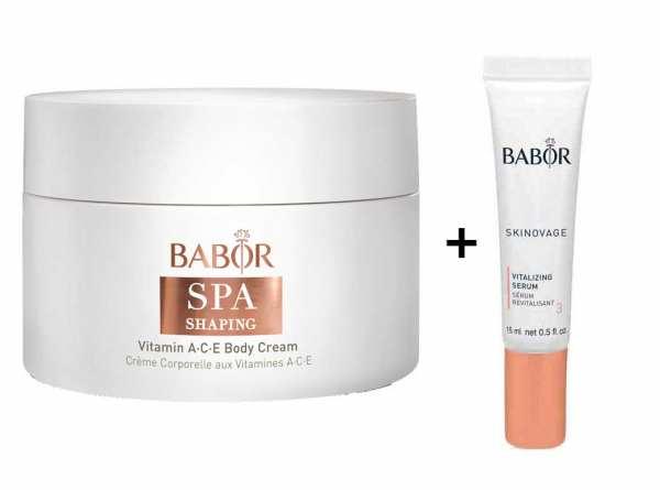 BABOR SPA SHAPING Vitamin ACE Body Cream - reichhaltige Anti-Aging Körpercreme