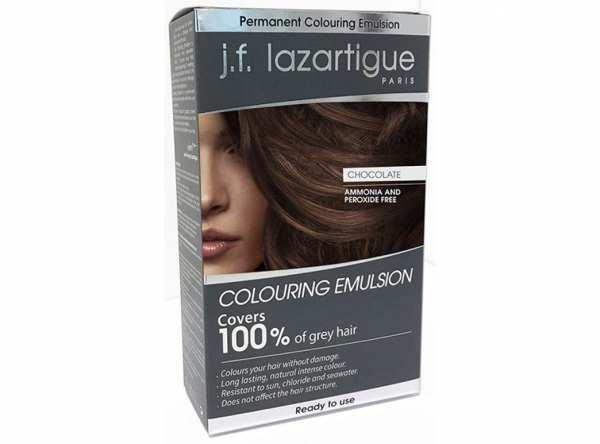 Haarfärbemittel EMULSION COLORANTE Schokolade von j.f. lazartigue
