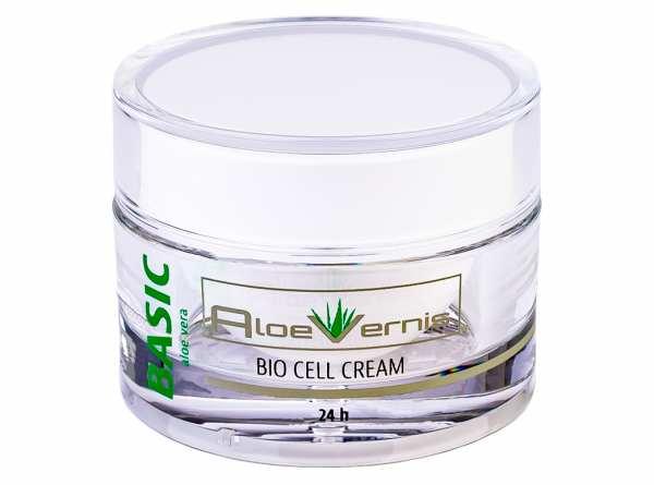 AloeVernis® BASIC aloe vera BIO CELL CREAM 24h 50 ml + 2 BABOR GRATIS AMPULLEN