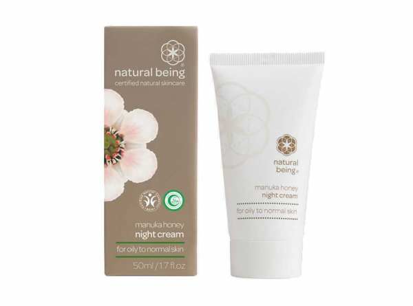 Living Nature Natural Being MANUKA Nachtcreme