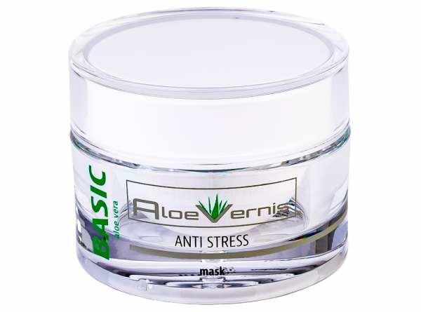 AloeVernis® BASIC aloe vera ANTI STRESS mask 50 ml + 2 BABOR GRATIS AMPULLEN