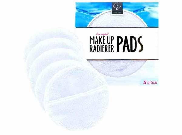 Der original MakeUp Radierer PADS 5-er Set Weiß