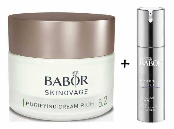 BABOR SKINOVAGE Purifying Cream rich - Klärende und ausgleichende Pflegecreme