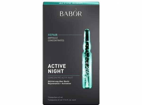 Wirkstoffkonzentrat Ampoule Concentrates REPAIR Active Night von BABOR