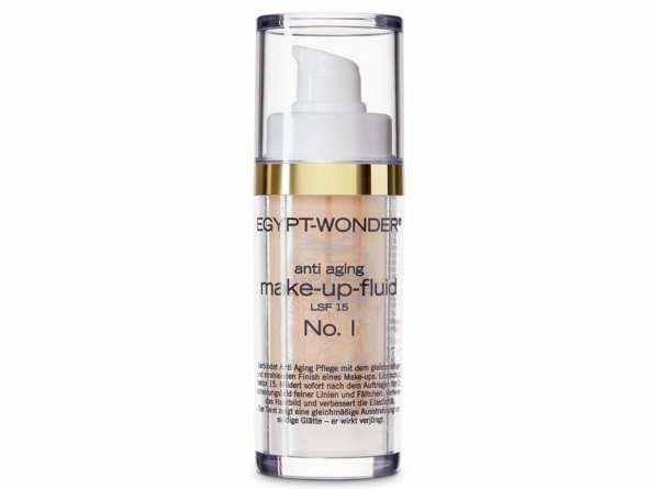 Tana® COSMETICS EGYPT-WONDER Anti-Aging Make-Up-Fluid LSF 15 Nr. 1 Hell